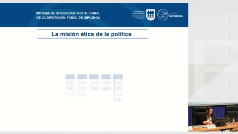 Códigos éticos e códigos de conduta - Curso monográfico Os sistemas de integridade institucional nas administracións públicas